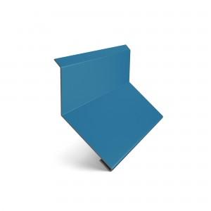 Bordura la perete Baudeman albastru (RAL 5010) 0.45 mm