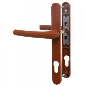 Maner usa interior, cu arc, Safir, stejar, 85 mm, 210 x 25 mm