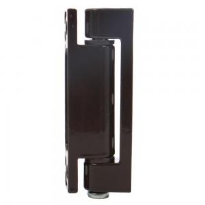 Balama simpla pentru ferestre, maro, 74 x 14 mm