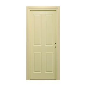 Usa interior celulara, Eco Euro Doors Simena, stanga, crem, 205 x 76 x 4 cm cu toc
