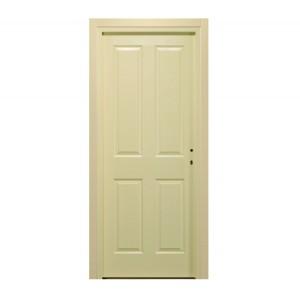Usa interior celulara, Eco Euro Doors Simena, stanga, crem, 205 x 86 x 4 cm cu toc