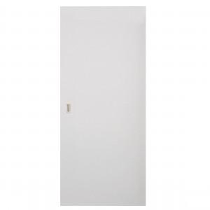 Usa culisanta Eco Euro Doors, plina, alba, 85 x 206 cm + maner ingropat