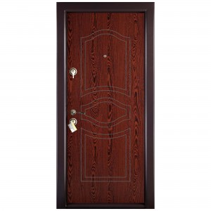 Usa interior metalica Prestige 1 lux 56, dreapta, wenge, 200 x 88 cm