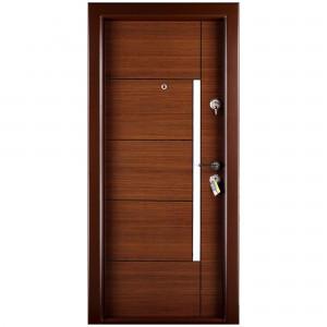 Usa interior metalica Prestige 1 lux 1017, stanga, nuc bergama, 200 x 88 cm