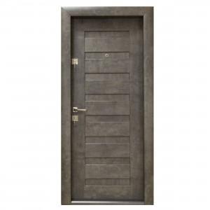 Usa interior metalica Arta Door 408, piatra petrol, dreapta, 88 x 201 cm