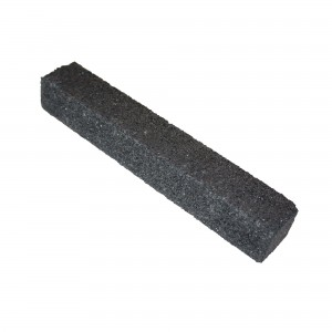 Piatra abraziva pentru slefuit otel, Carbochim, 200 x 30 x 30 mm
