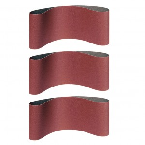 Banda abraziva ingusta, pentru lemn / metale, Klingspor LS 309 XH, F5, 75 x 533 mm, granulatie 100