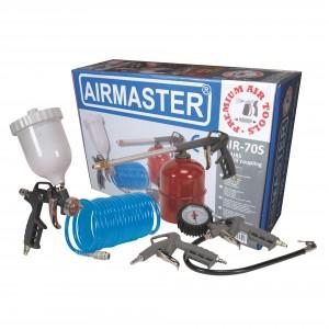 Set 5 accesorii pentru compresor, Airmaster Air-70S