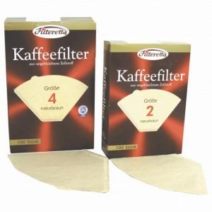 Hartie filtru cafea numarul 4 100 bucati pe cutie