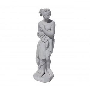 Statuie Paula din Canova, decoratiune gradina, beton, 21 x 21 x 81 cm
