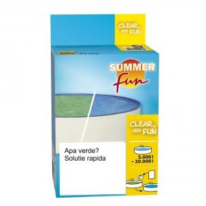 Tratament pentru piscine inverzite, Clear and Fun, 3000 - 5000L