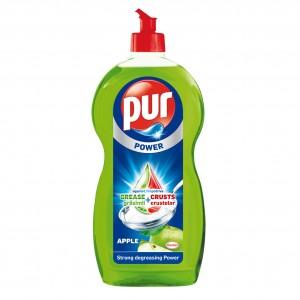 Detergent lichid pentru vase Pur Power, aroma mar, 1.35 l