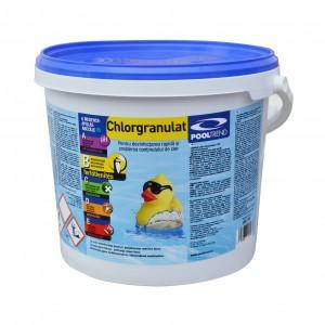 Clor granule, pentru apa piscina, 5 kg