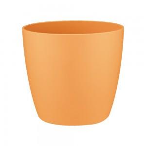 Ghiveci din plastic Brusseles mini, orange D 9.5 cm
