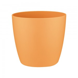 Ghiveci din plastic Brusseles mini, orange D 10.5 cm