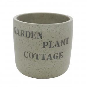 Ghiveci ceramic 350207, rotund, 30 x 30 cm