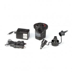 Pompa aer, pentru produse gonflabile, electrica, 220 V, Intex 66632 + 3 adaptoare