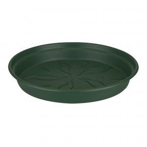 Farfurie ghiveci Green Basic, plastic, rotund, verde, D 53.5 cm
