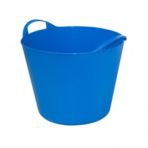 Galeata flexibila ArtPlast Flex Bag, albastra, cu 2 manere, 32 cm, 15L