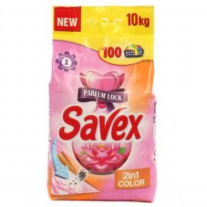 Detergent rufe, automat, Savex Parfum Lock 2 in 1 color, 10 kg