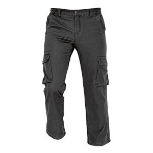 Pantaloni pentru protectie Rahan termoizolanti, bumbac, negru, marimea L