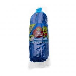 Rezerva mop bumbac, albastru, 250 g