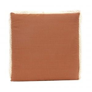 Perna pentru sezut, Tosca, mocca, bumbac + poliester, 40 x 40 x 3 cm