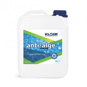 Algicid lichid Kloer, pentru apa piscina, 5 l