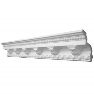 Bagheta polistiren decorativa Decosa G33 13092 clasic alb 200 x 10 x 10 cm
