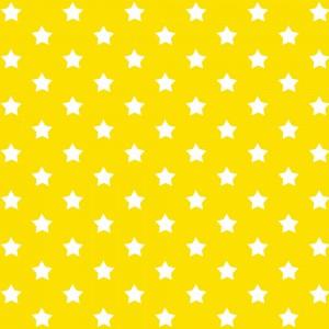 Autocolant decorativ Gekkofix Stars 13414, alb + galben, 0.45 x 15 m