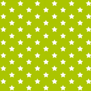 Autocolant decorativ Gekkofix Stars 13420, alb + verde, 0.45 x 15 m