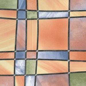 Autocolant vitraliu Gekkofix Barcelona 11805, multicolor, 0.675 x 15 m