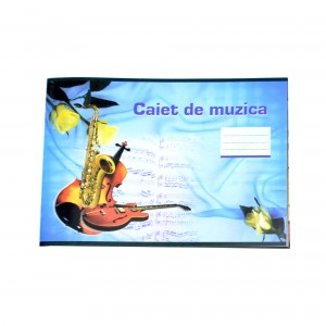 Caiet muzica, 24 file, 70 g/mp
