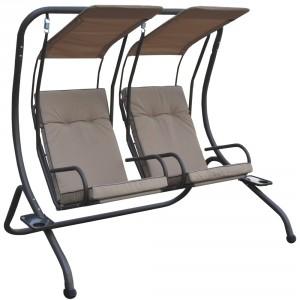 Balansoar gradina, 2 persoane, SW 022, structura metal, 170 x 136 x 170 cm