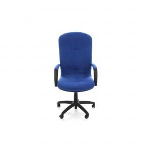 Scaun birou directorial Selene, rotativ, material textil A112, albastru