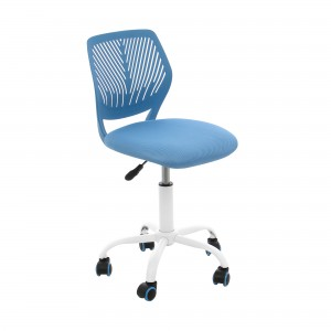 Scaun birou operational Carnation, rotativ, mesh, albastru