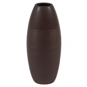 Vaza decorativa 90909 117, maro, 24 cm
