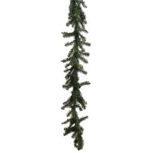 Ghirlanda Craciun, verde, 250 crengute, 2.75 m, D 20 cm
