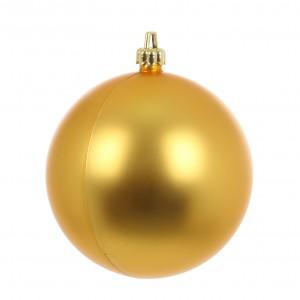 Glob Craciun, auriu, D 15 cm