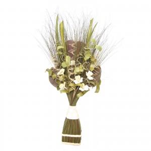 Flori uscate, 118 AR 38523, 100 cm, maro + verde