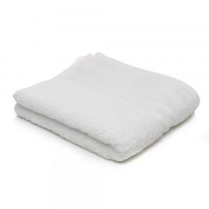 Prosop baie, bumbac, alb, 50 x 70 cm