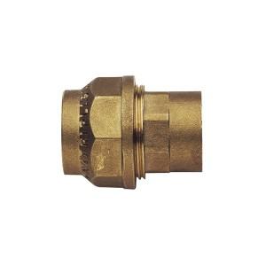 Racord compresie alama, FI, D 25 mm x 3/4 inch, 490RF342