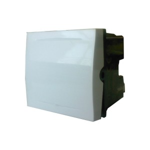 Intrerupator simplu Esperia 300.800, incastrat, modular - 2, negru