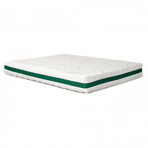Saltea pat Adormo Green Line Natura, 1 persoana, cu spuma poliuretanica + memory, fara arcuri, 90 x 200 cm