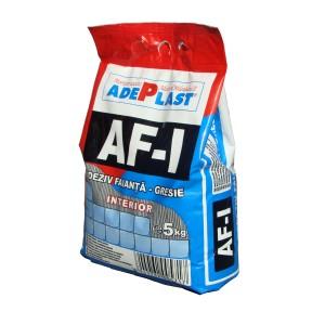 Adeziv gresie si faianta Adeplast AF-I, gri, pentru interior, 5 kg