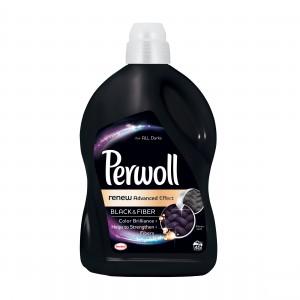 Detergent de rufe, lichid, Perwoll Advanced Black 2.7L