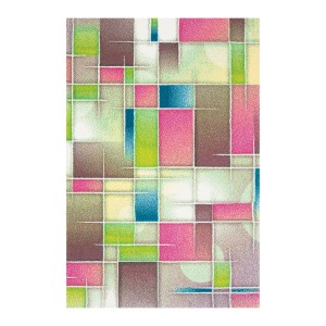 Covor living / dormitor Sintelon Vegas Pop 43 RVR polipropilena frize, heat-set dreptunghiular multicolor 120 x 170 cm