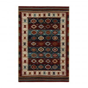 Covor living / dormitor Carpeta Atlas 86991-41622 polipropilena heat-set dreptunghiular multicolor 160 x 230 cm