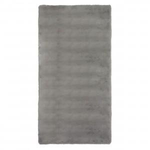 Covor living / dormitor Wuhan Chip Pes 18229 poliester dreptunghiular gri deschis 120 x 180 cm