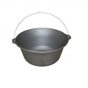 Ceaun Landmann, fonta, cu maner, 16 litri